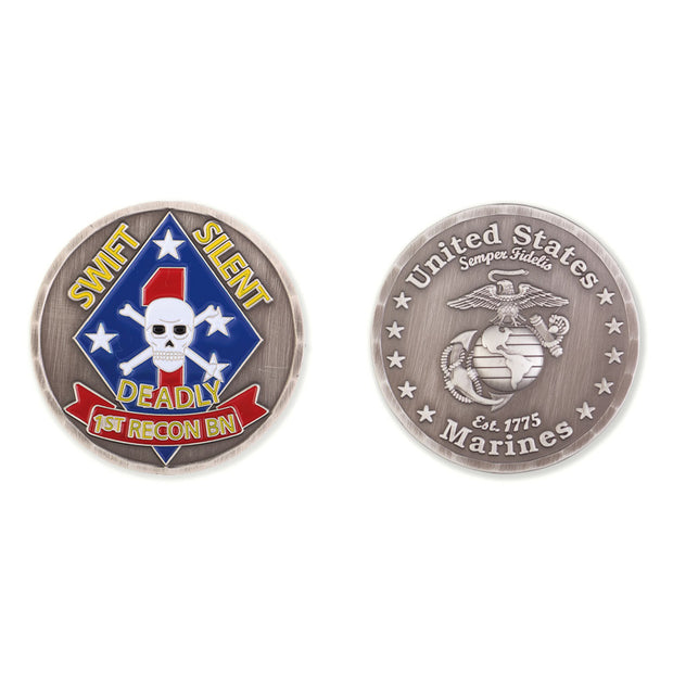1st Recon Battalion Coin