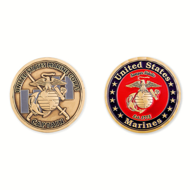 Captain of Marines Coin