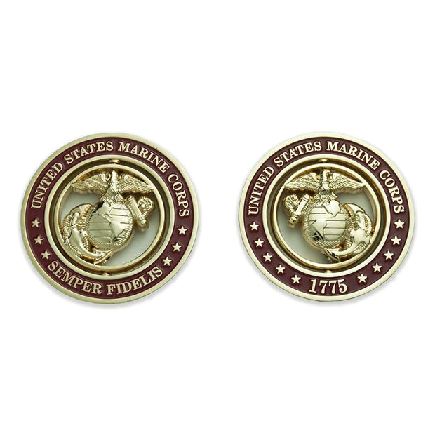 Marine Corps Spinner Coin