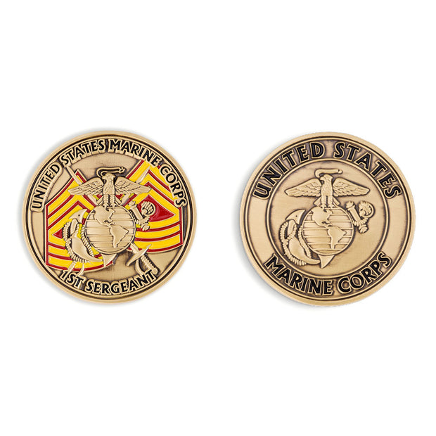 First Sergeant Coin