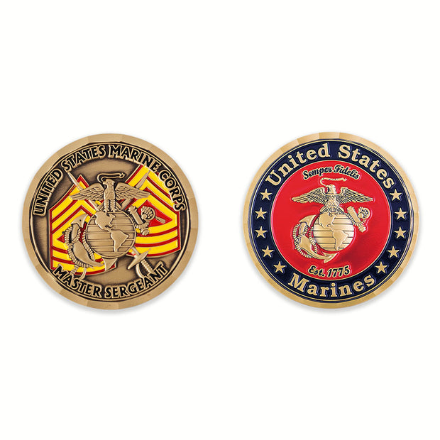 Master Sergeant Coin