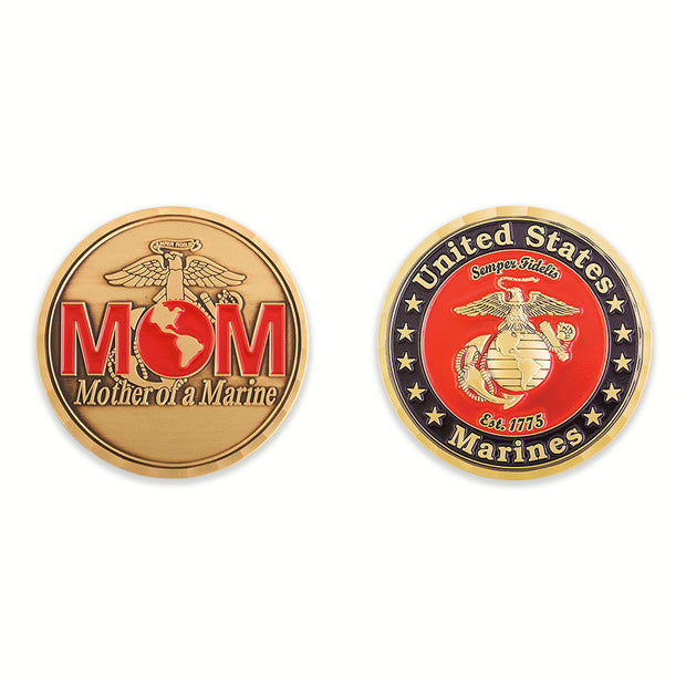 Mother of a Marine Coin