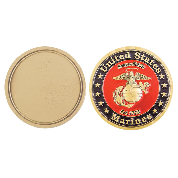 Marine Corps Customizable Coin