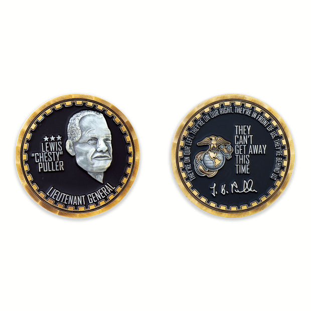 Lewis Chesty Puller Coin