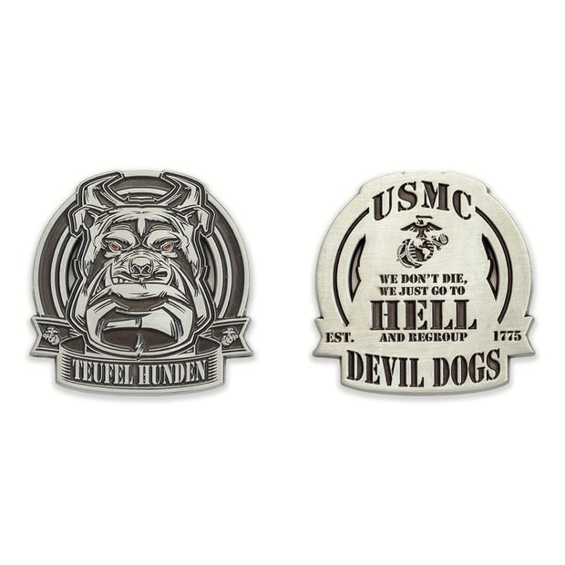 Teufel Hunden Devil Dogs Coin