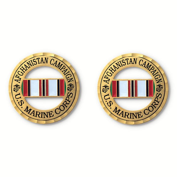 Afghanistan Campaign Ribbon Coin