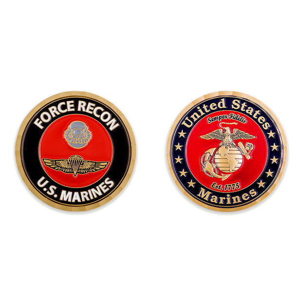 Force Recon Coin