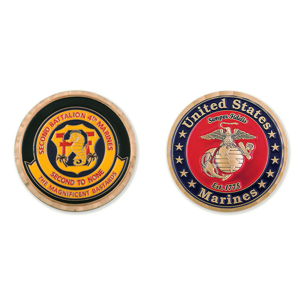 2nd Battalion 4th Marines Coin