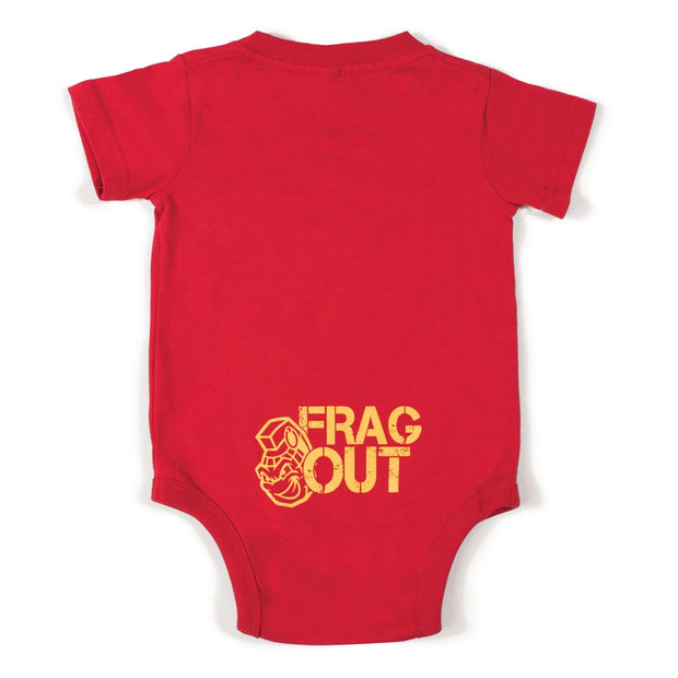 Frag Out Infant Creeper