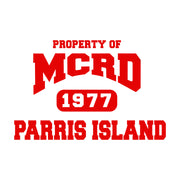 Property of MCRD Decal Art