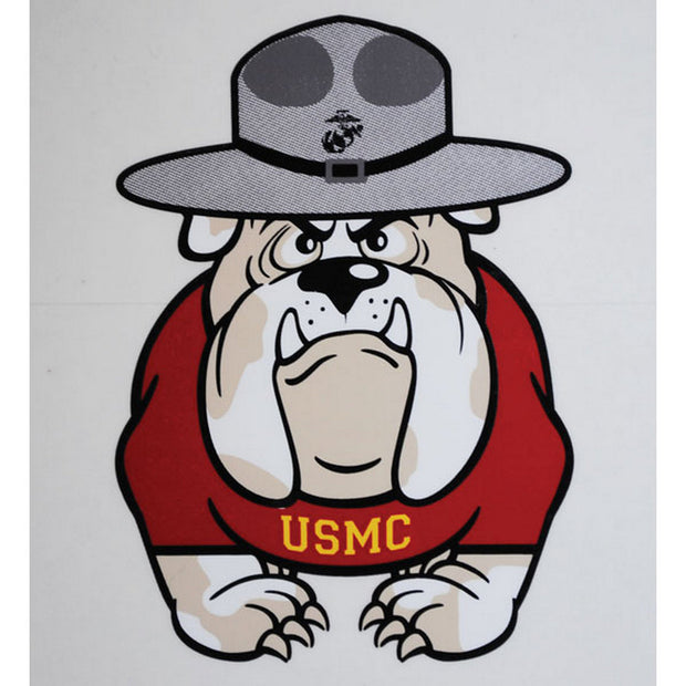"Bulldog 4"" Decal"