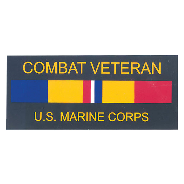 USMC Combat Veteran Decal