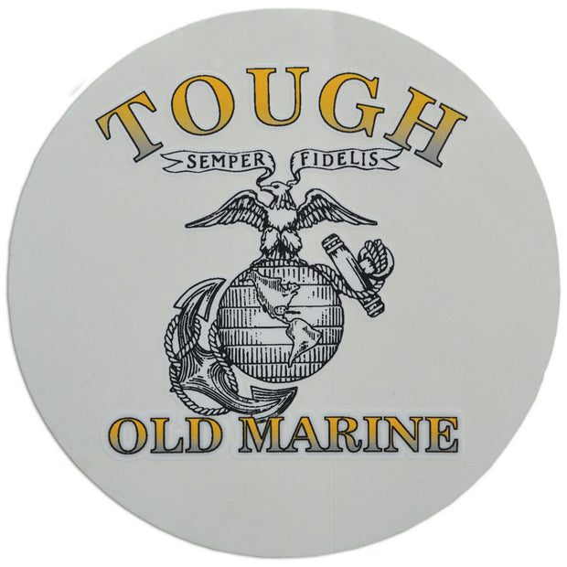 Tough Old Marine Decal