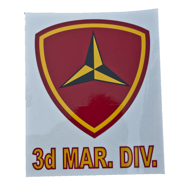 3rd Marine Division  Decal