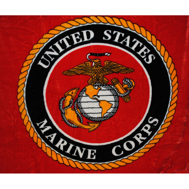 United States Marine Corps Seal Blanket