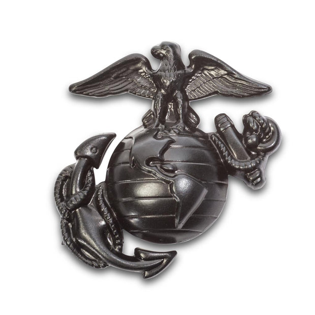 Small Black Service Cap Badge