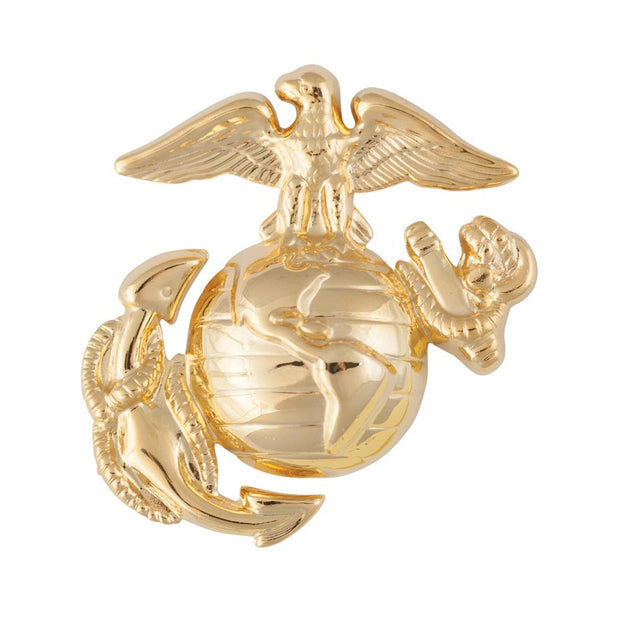 Enlisted Collar Device Dress Uniform Brass
