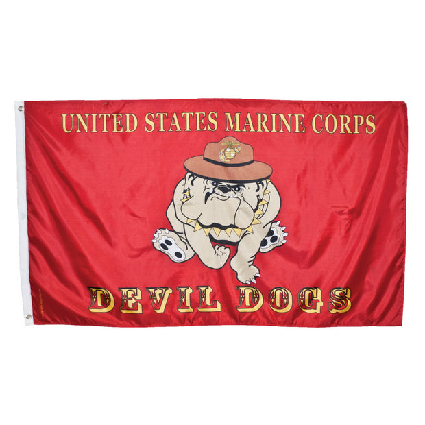 USMC Devil Dog 3' x 5' Flag