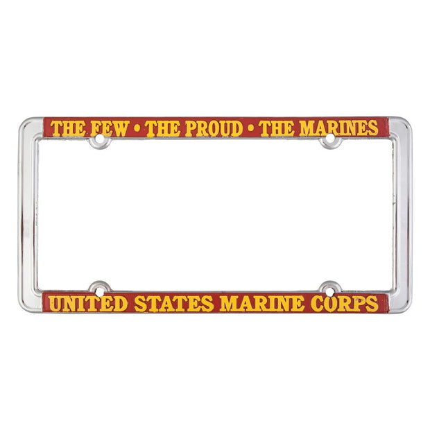 The Few The Proud The Marines License Plate Frame