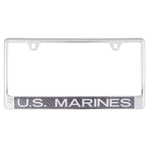 U.S. Marines Aluminum License Plate Frame