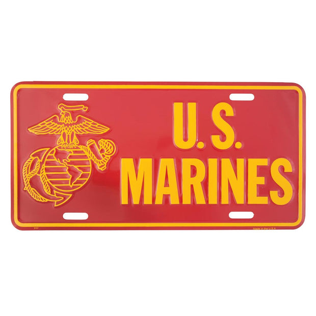 U.S. Marines Eagle, Globe, and Anchor License Plate