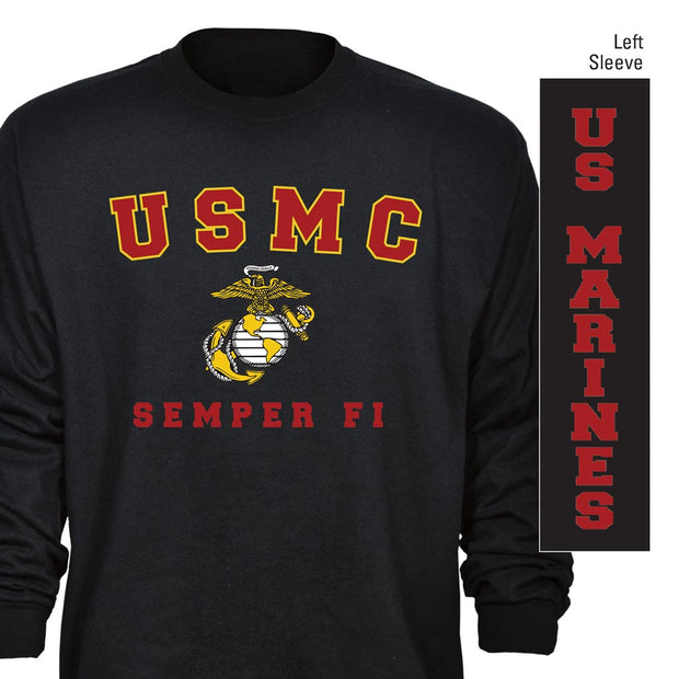 USMC Semper Fi Long Sleeve T-Shirt