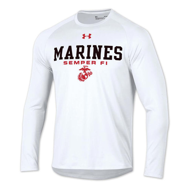 Under Armour Marines Semper Fi Long Sleeve Tech Tee