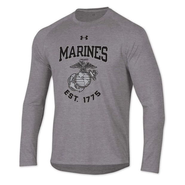 Under Armour Marines EST 1775 Long Sleeve Tech