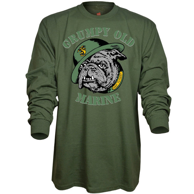 Grumpy Old Marine Long Sleeve