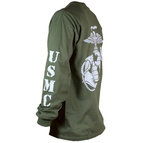 USMC OD Long Sleeve T-shirt