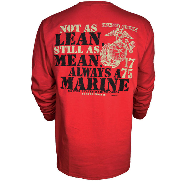 Not As Lean Long Sleeve Tee