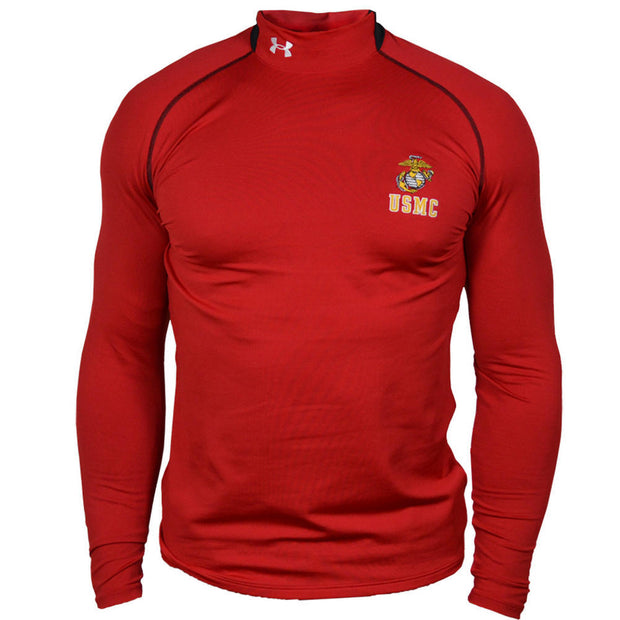 USMC Under Armour Qtr. Cold Gear Mock