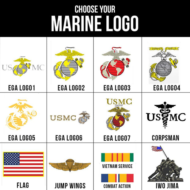 USMC Logo or Rank Sweatshirt