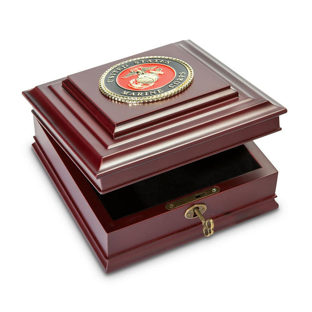 Marine Corps Medallion Box