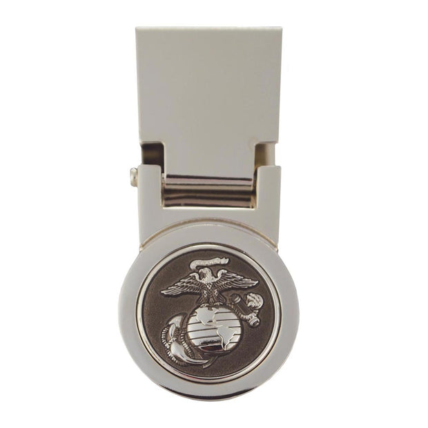 USMC Stainless Steel Money Clip