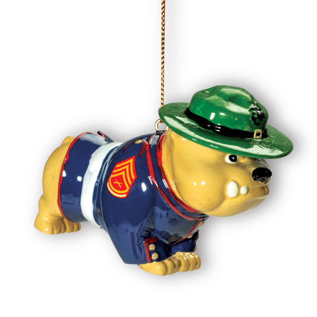 Marine Corps Bulldog Ornament
