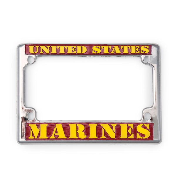 United States Marines Motorcycle License Plate