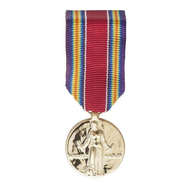 WWII Victory Mini Medal