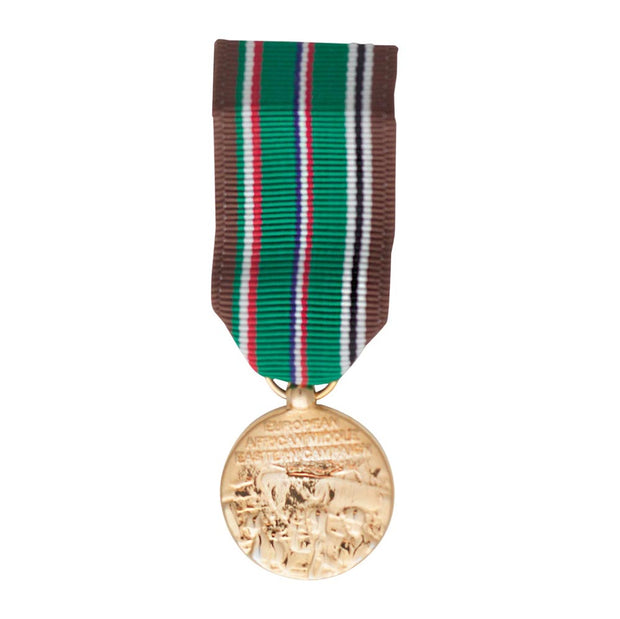 European African Mideastern Campaign Mini Medal
