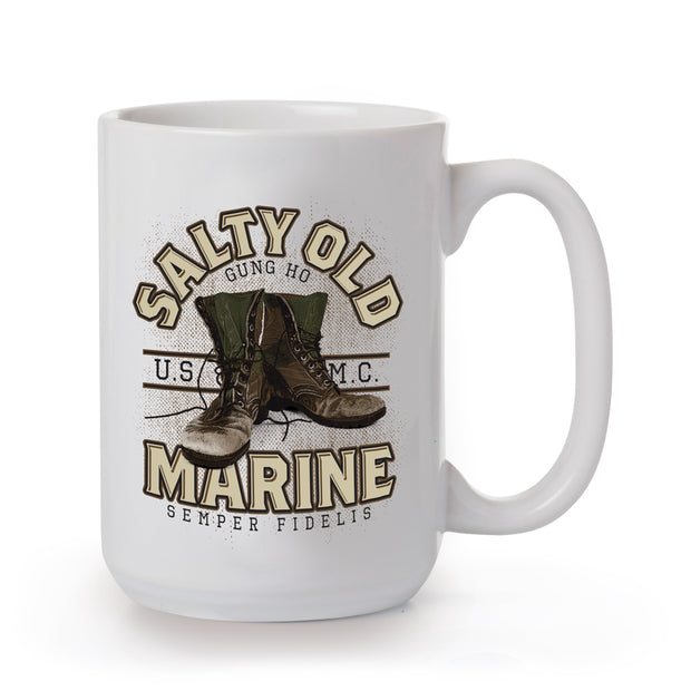 Salty Old Marine Mug