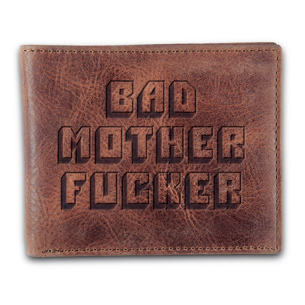 Bad MF Men's Bifold Wallet