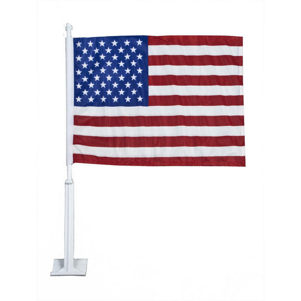 "USA 11"" x 14"" Nylon Car Flag"