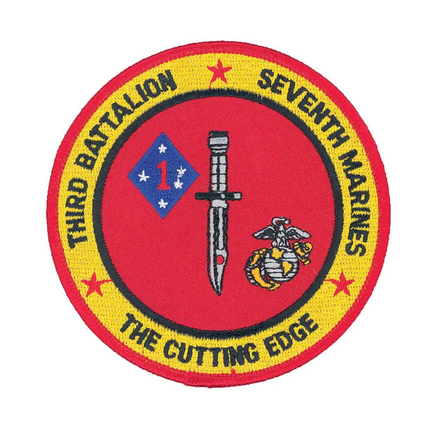 3rd Battalion 7th Marines Patch