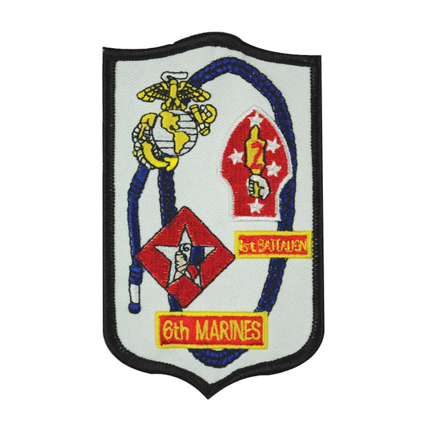 1st Battalion 6th Marines Patch