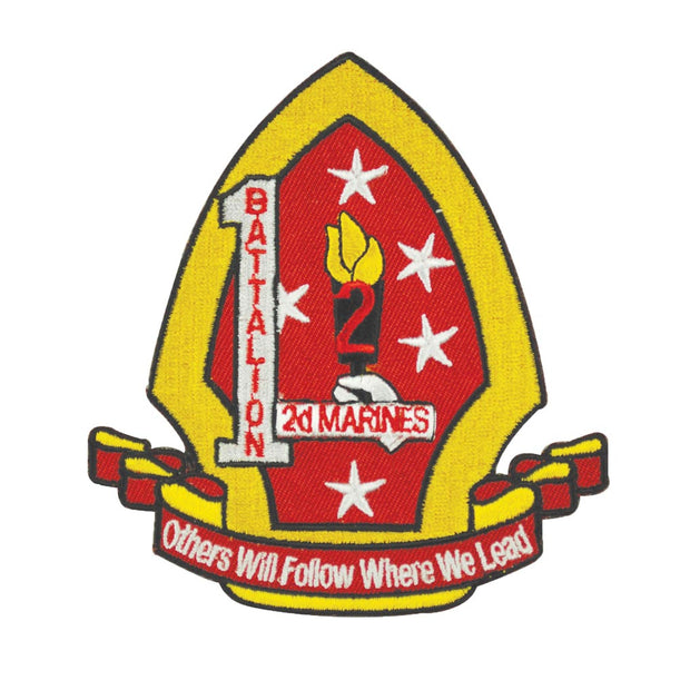 1st Battalion 2nd Marines Patch