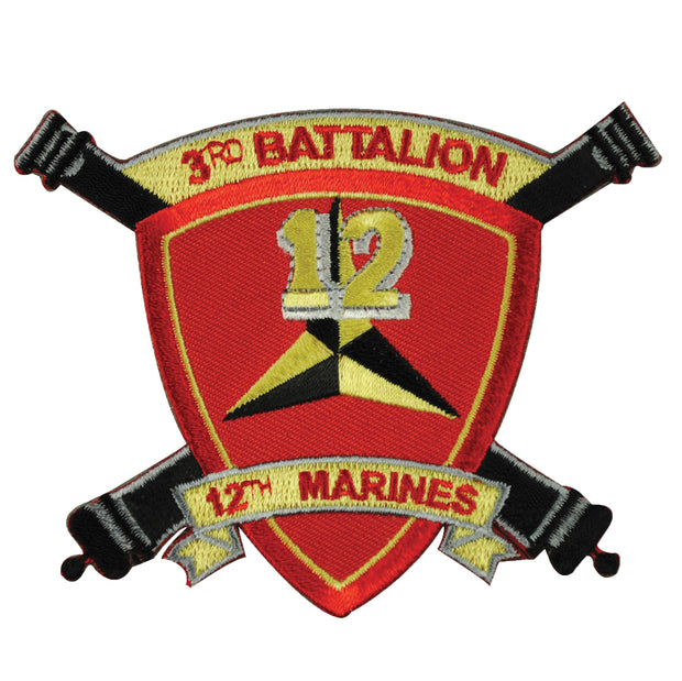 3rd Battalion 12th Marines Patch