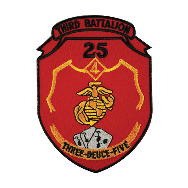 3rd Battalion 25th Marines 4th Marine Division Patch