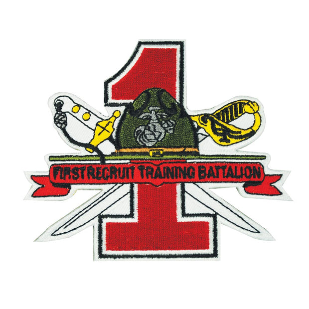 1st Recruit Training Battalion Patch