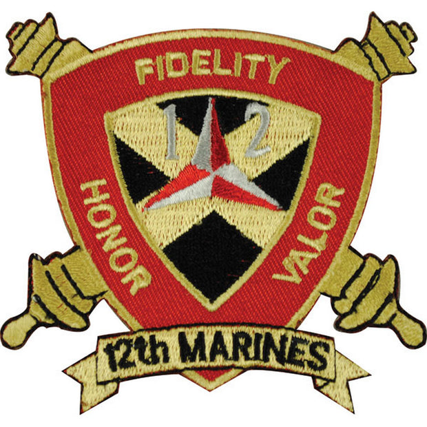 12th Marines Regimental Patch