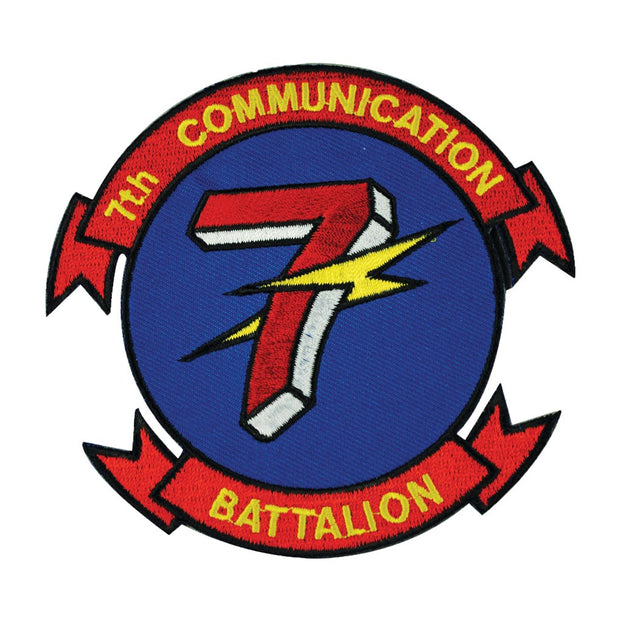 7th Communication Battalion Patch